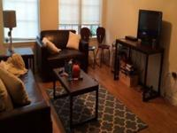 Beautiful downtown campus apartment for sublet, five