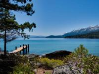 One of Tahoe's rarest lakefront estates - Located down