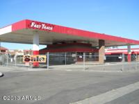 Previous Fast Track mini-mart corner store and filling