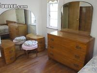 Available Today 2nd Floor. Furnished Bedroom with a