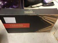 this Toshiba is brand new never been opened or