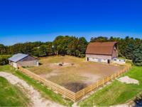 80 Acre Horse Farm With Heated Indoor Riding Arena