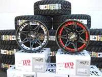 (SACRAMENTO/CITRUS LEVELS ) 4-18x9 XD Rockstar wheels