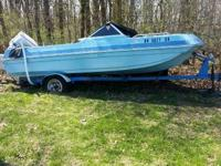 For sale- 77 Chrysler boat w / 85hp mercury outboard
