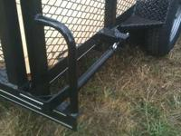 77x12 All Purpose Trailer Tube Top Rail,2 mesh,Tube