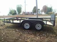 brand new 77x12 dovetail tandem with rampgate,,2 3500