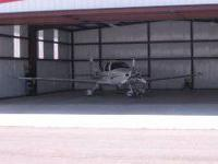 Newer 50x50 stand alone steel hangar at Claremore