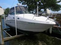 2007 Sea Ray 280 SUNDANCER This is a nice clean late