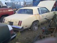 78 cutlass 2dr with 350 olds rocket engine. did run and