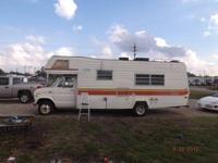 I HAVE A 1978 FORD SHASTA RV MOTORHOME, COMPLETELY