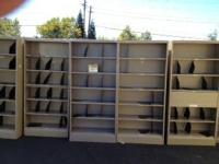 "78""Hx36""Wx12""D Metal Bookcases  $99  Jamesville Office"