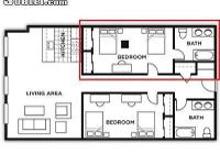 Re-leasing a 9 month lease of a suite in University