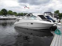 2009 Sea Ray 270 SUNDANCER About this Fresh Water 28'