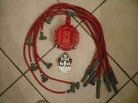 msd distributor cap $20 obo msd ignition wire set $70