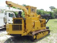 Bandit 1400 Grapple Track Chipper Grinder For Sale