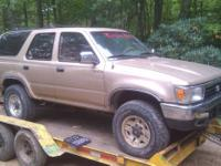 Parting out several Toyota trucks and Four Runners.