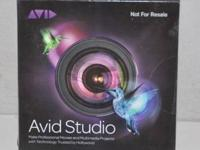 AVID STUDIO ADVANCED VIDEO EDITING 8217-30003-01 New