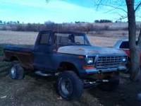 Parting out 79 F150 4x4, lifted. New doors, fenders,