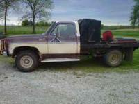 79 GMC 3/4 Ton feed pickup for sale. Dependable, good