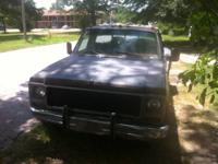79 GMC Camper Special with Target 350 crate engine and