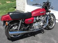 Completely restored 79 GS1000 in winter of 2011. Bike