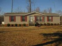 3Bed/2Bth doublewide on a good 1 acre lot on Cub Creek