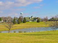 Pristine equestrian estate on 33 acres. The residence