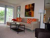One bedroom apartments available in gated community