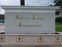 Renata Lakes Apartments Now Leasing 1 and 2 Bath Flats,