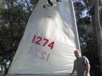 16' MFG Sidewinder Sailboat in good condition for it's