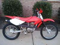 I am selling a 2001 Honda XR100 Dirtbike. The bike