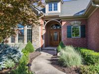 Elegant custom home in Aston Oaks golf community with