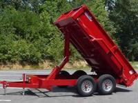 best trailers 478-7888-9039 joey 7x14 dump trailer low