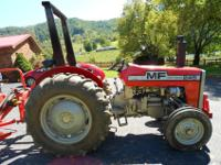 245 MASSEY FERGUSON Diesel This is a great tractor