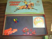 "1)1950 ""STRAIGHT ARROW"" BOARD GAME (VRY GD) MADE BY"
