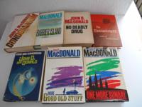 Available: 7, wonderful, vintage John D. MacDonald,