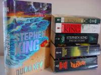 I have 7 Stephen King books. 1 hardcover and 6