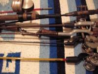 Here is a great find, I have 7 fishing poles that are