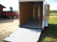 7 X 16  V NOSE, ENCLOSED CARGO TRAILER STANDARD