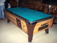 I have used Valley & Dynamo 7ft Commercial Pool Tables