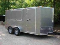 We Recently Built this Deluxe Concession Trailer for a