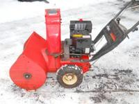 for sale: 7hp ariens snowblower that has tire chain.