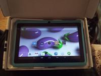 Used 7in Deerbrook Tablets. Quacore 4.4 android tablet,
