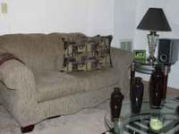Modern living room set. Ideal for a modern setting. If
