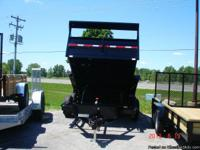 "2013 New Generation 82""x12' Dump trailer 12,000"