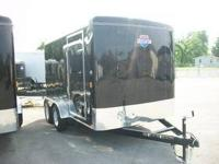 NEW 7X12 ENCLOSED CARGO TRAILER CASH SPECIAL TANDEM