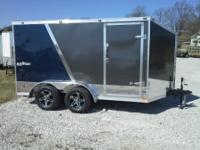 2015 Stealth 7x12 enclosed motorcycle trailer with