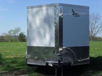 New 2014 Enclosed Trailer 7x12 V nose, 5 years warranty