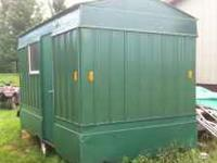 For sale: - 7x12' ice house on wheels - Newly