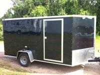 7x12 Cargo trailerplus 2' of v-nose. 14' tip to tip.